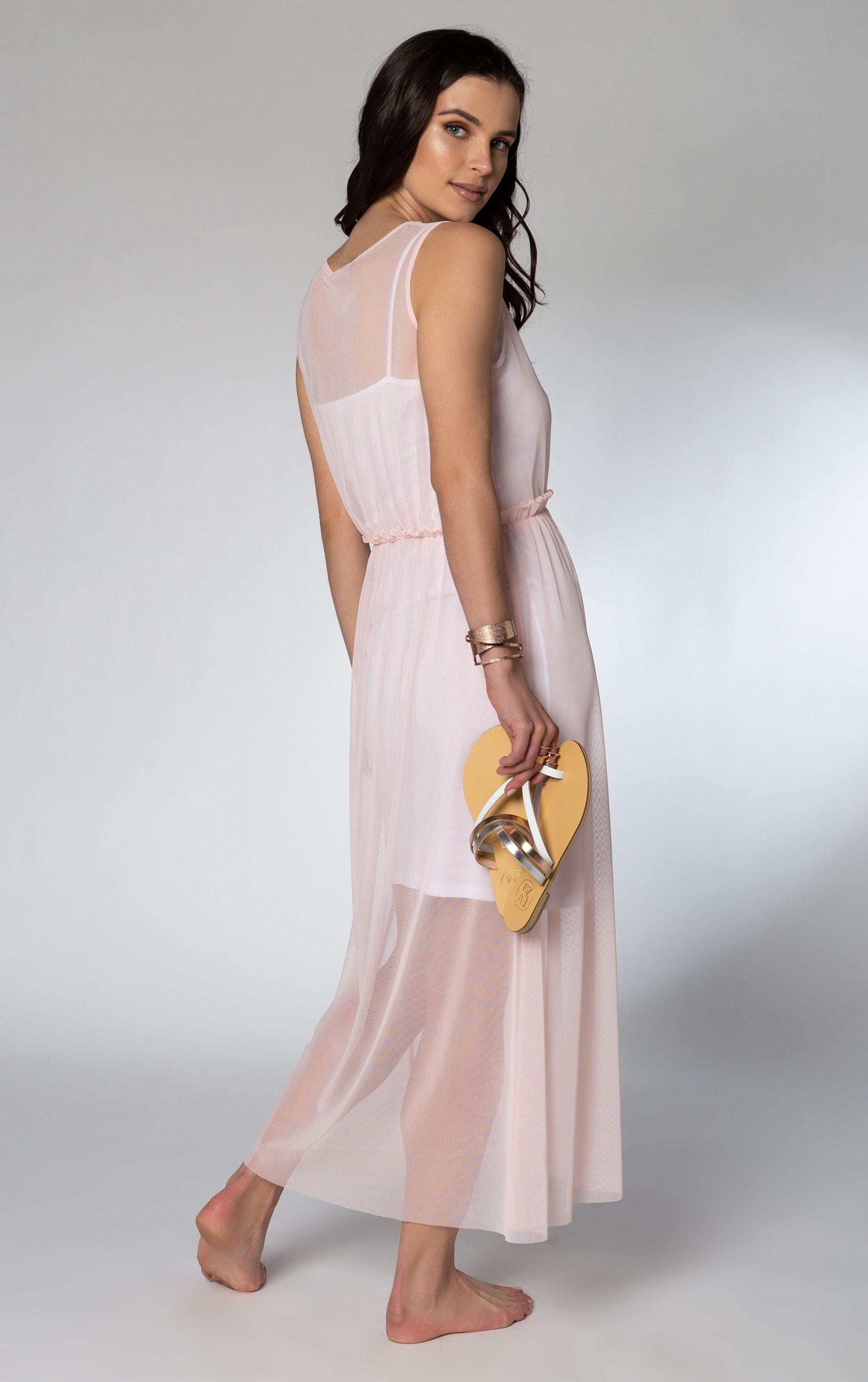Φόρεμα εξωτερικό τούλι- V01108