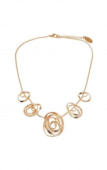Κολιέ- A4134- ROSE GOLD