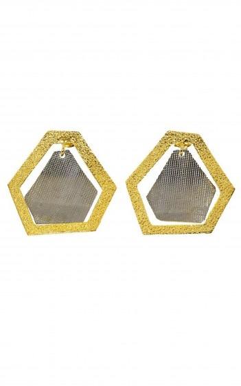 Σκουλαρίκια- AF4189- GOLD